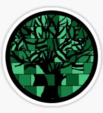 Puzzle tree Sticker