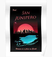 San Junipero - Black Mirror Poster