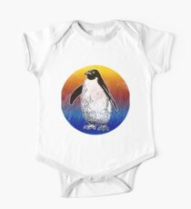 Cute Penguin Silhouette Love Animals TShirt Kids Clothes
