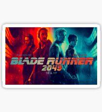 Blade Runner 2049 - Film - Affiche Sticker