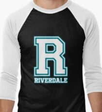 R- Riverdale Men's Baseball ¾ T-Shirt