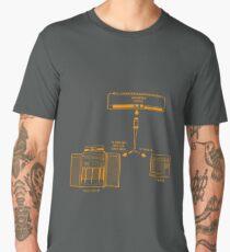Input Output - Dark Tee Men's Premium T-Shirt