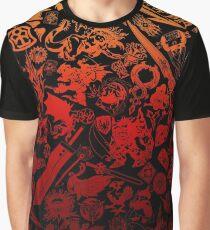 Final Fantasy Moogle-verse (red) Graphic T-Shirt