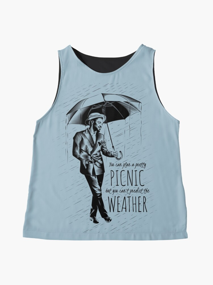 Alternate view of Andre in the Rain Sleeveless Top