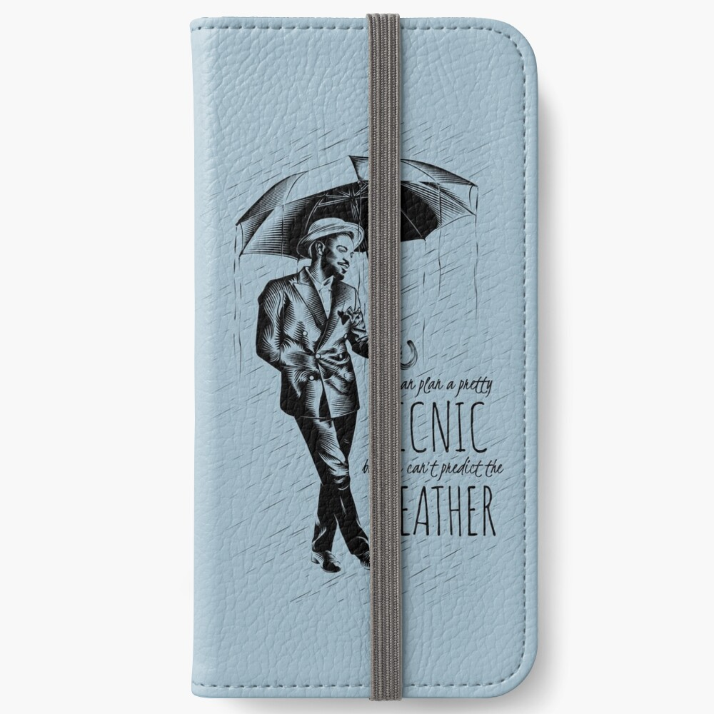 Andre in the Rain iPhone Wallet