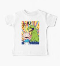 Tommy and Reptar Sketch Baby Tee