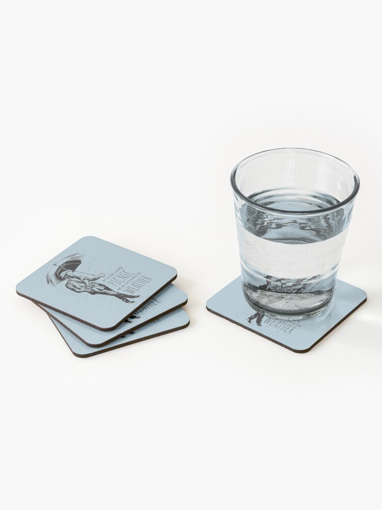Alternate view of Andre in the Rain Coasters (Set of 4)
