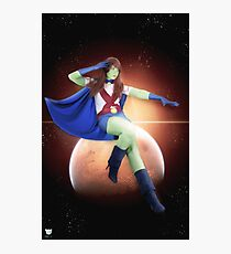 Young Justice Miss Martian Photographic Print
