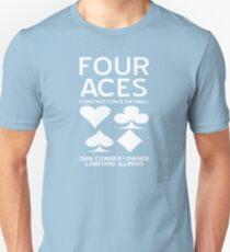 Four Aces Construction Unisex T-Shirt