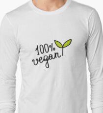 lettering 100% vegan  T-Shirt
