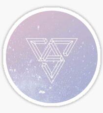 Seventeen Logo Sticker