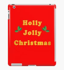Holly Jolly Christmas iPad Case/Skin