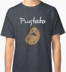 Pugtato - A Funny Pun of Potato and Pug Classic T-Shirt