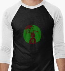 Bloodline- Gage Outline Men's Baseball ¾ T-Shirt