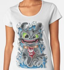 Toothless How To Train Your Dragon Women's Premium T-Shirt