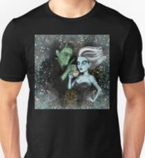 Frankenstein Wants his Coffee on Halloween T-Shirt