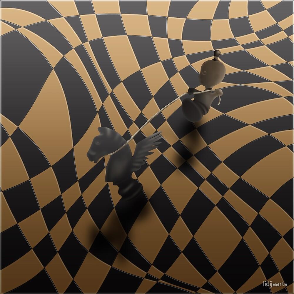 Chess battle by lidijaarts