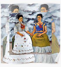 Frida Kahlo Two Fridas Poster