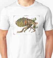 Whimsical Pop Botanical Flea #CreateArtHistory T-Shirt