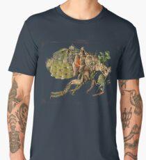 Whimsical Pop Botanical Flea #CreateArtHistory Men's Premium T-Shirt
