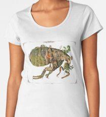 Whimsical Pop Botanical Flea #CreateArtHistory Women's Premium T-Shirt