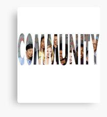 Community - The Greendale seven (Plus Chang) Canvas Print