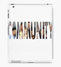 Community - The Greendale seven (Plus Chang) iPad Case/Skin