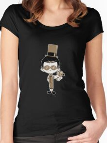 Little Inventor #2 Women's Fitted Scoop T-Shirt