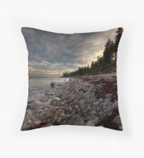 North Shore Cape Breton Island Nova Scotia Throw Pillow