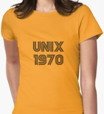 Unix 1970 Women's Fitted T-Shirt