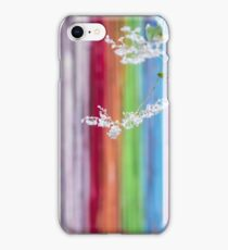 The Color Festival And The White Blossoms iPhone Case/Skin