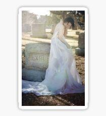 When Spirits Weep Sticker