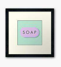 SOAP Framed Print