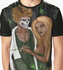 Halloween in Florida Love Fantasy Art Graphic T-Shirt