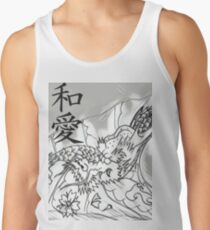 Peace & Love Dragon Tank Top