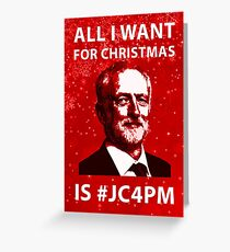 #CJ4PM Christmas Card Greeting Card