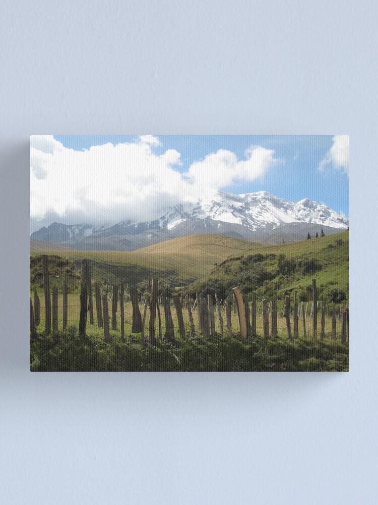 Alternate view of Chimborazo(1) Canvas Print