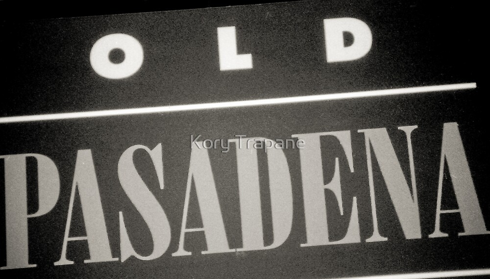 Old Pasadena by Kory Trapane