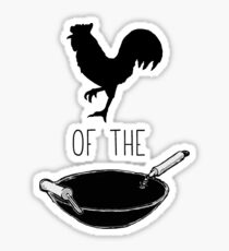 Cock of the Wok Sticker