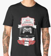 Best English Teacher Men's Premium T-Shirt