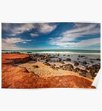 Maui Red Dirt at Baby Beach Poster