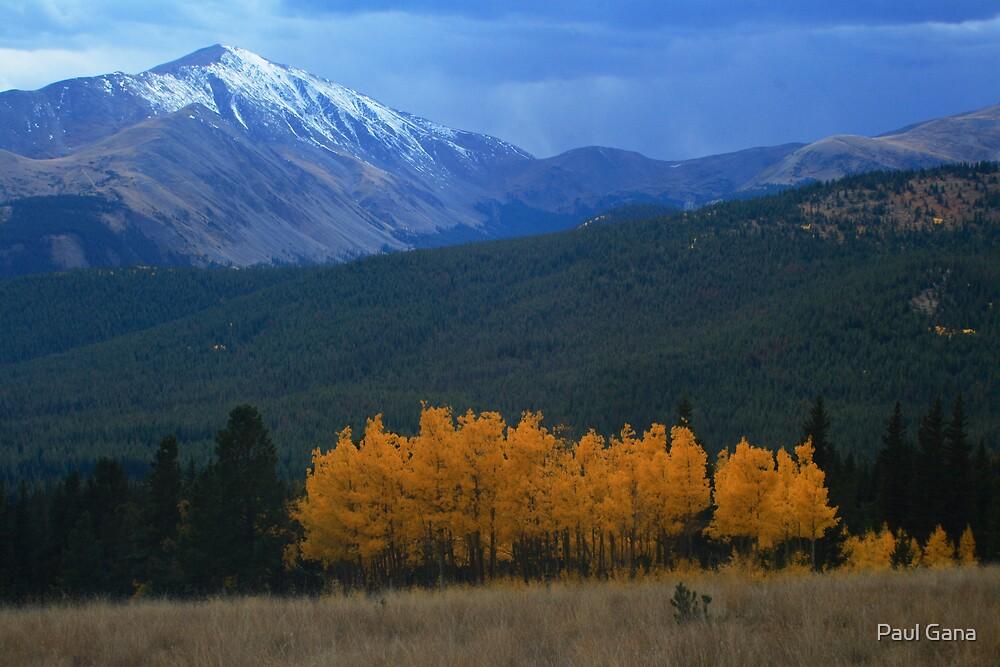Mt. Silverheels by Paul Gana