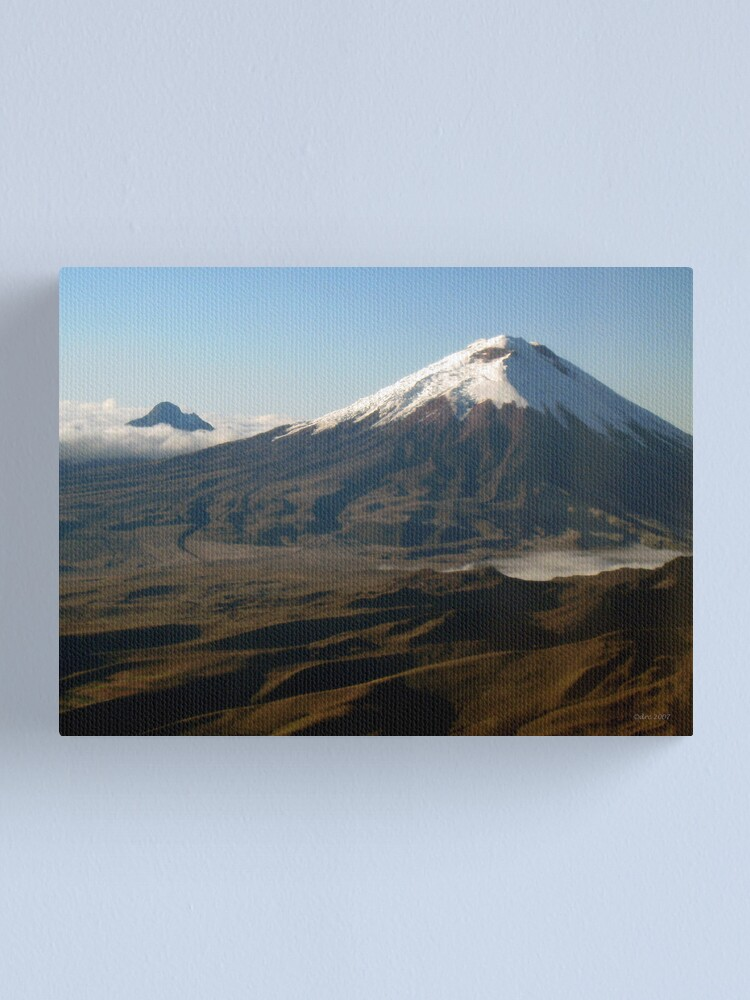 Alternate view of Cotopaxi from the Air Canvas Print