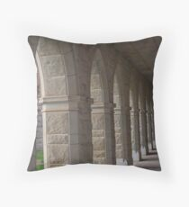 arches and porticos Throw Pillow