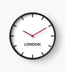 London, United Kingdom — Clock Clock