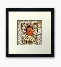 Frida Kahlo 1948 Autorretrato - Self Portrait Framed Print