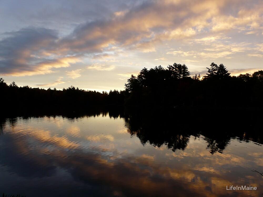 Autumn Dawn by LifeInMaine