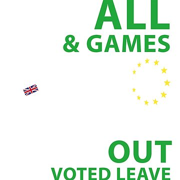 Brexit Christmas Design - Fun & Games by west12345