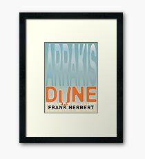 Arrakis - Dune - Desert Planet Framed Print