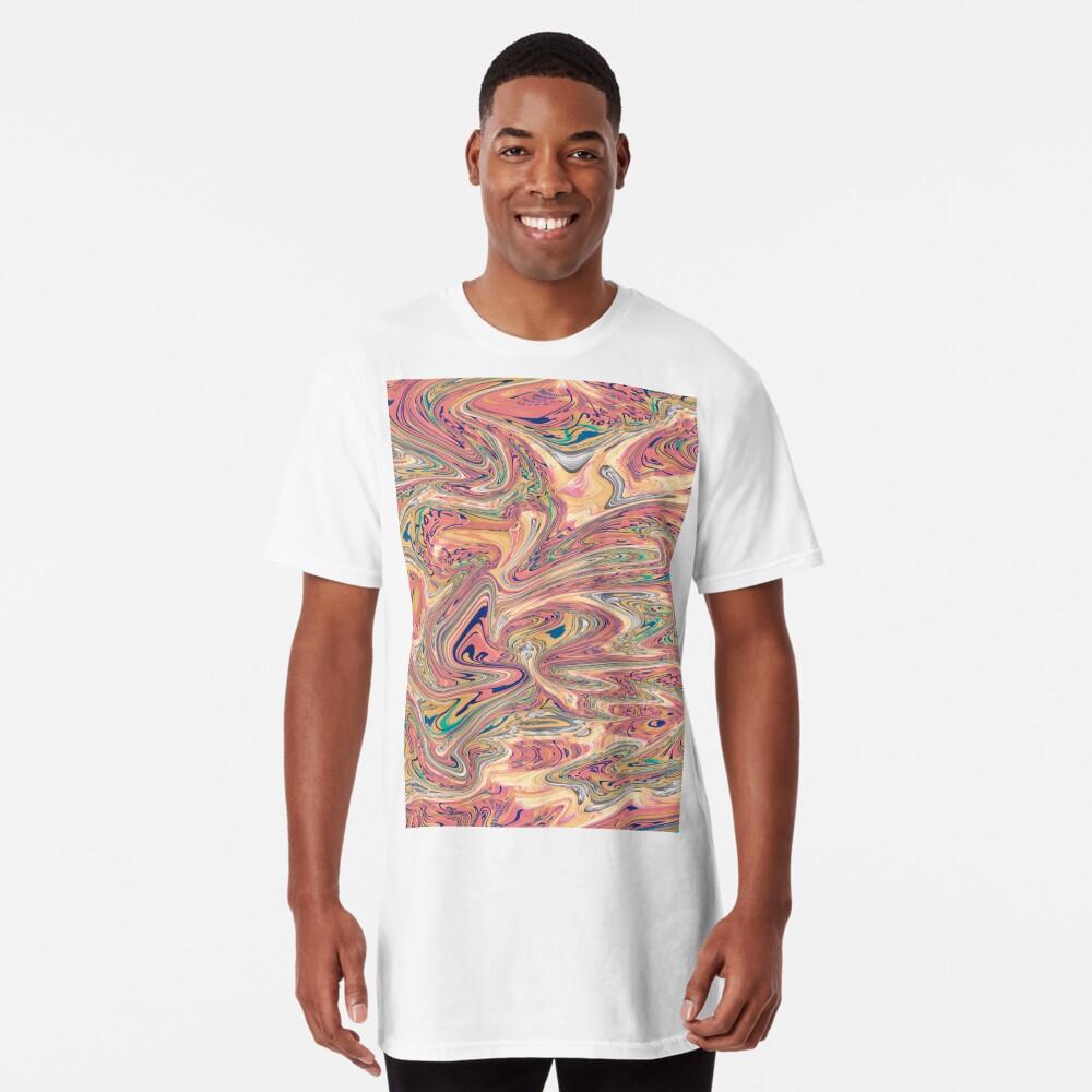 LaCroix Pamplemousse Marmor Longshirt